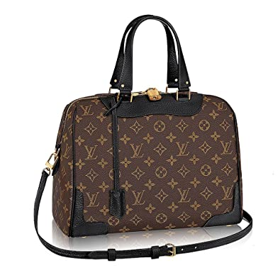 9daaa55333f4 Authentic Louis Vuitton Monogram Canvas Retiro NM Tote Handbag  Article M50058 Noir Made in France  Handbags  Amazon.com