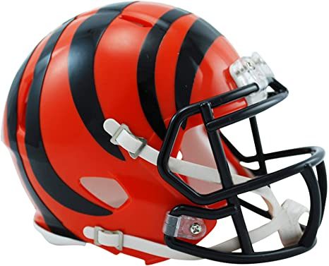 0343d2832 Image Unavailable. Image not available for. Color  Sports Memorabilia Riddell  Cincinnati Bengals Revolution Speed Mini Football Helmet ...