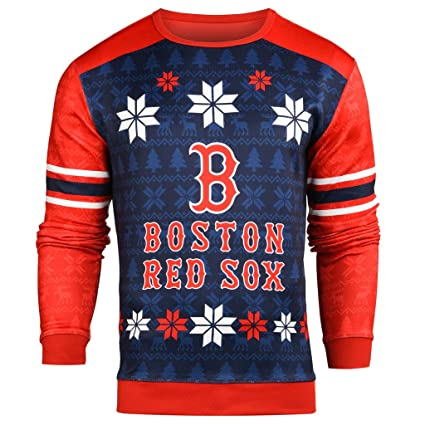 d944f2a91820 Amazon.com : Forever Collectibles MLB Men's Printed Ugly Sweater ...