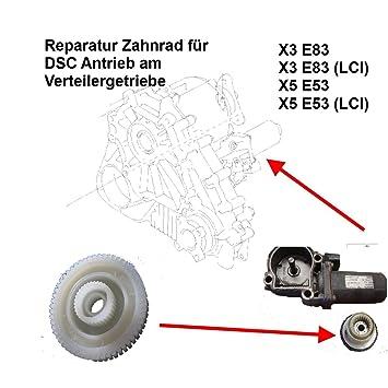 BMW X3 E83 X5 E53 Engranaje Del Distribuidor 4x4 servoMOTOR Piñón Para Reparación