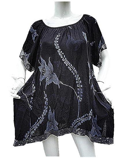 fashionfolie Femme Haut Top Tunique 44 46