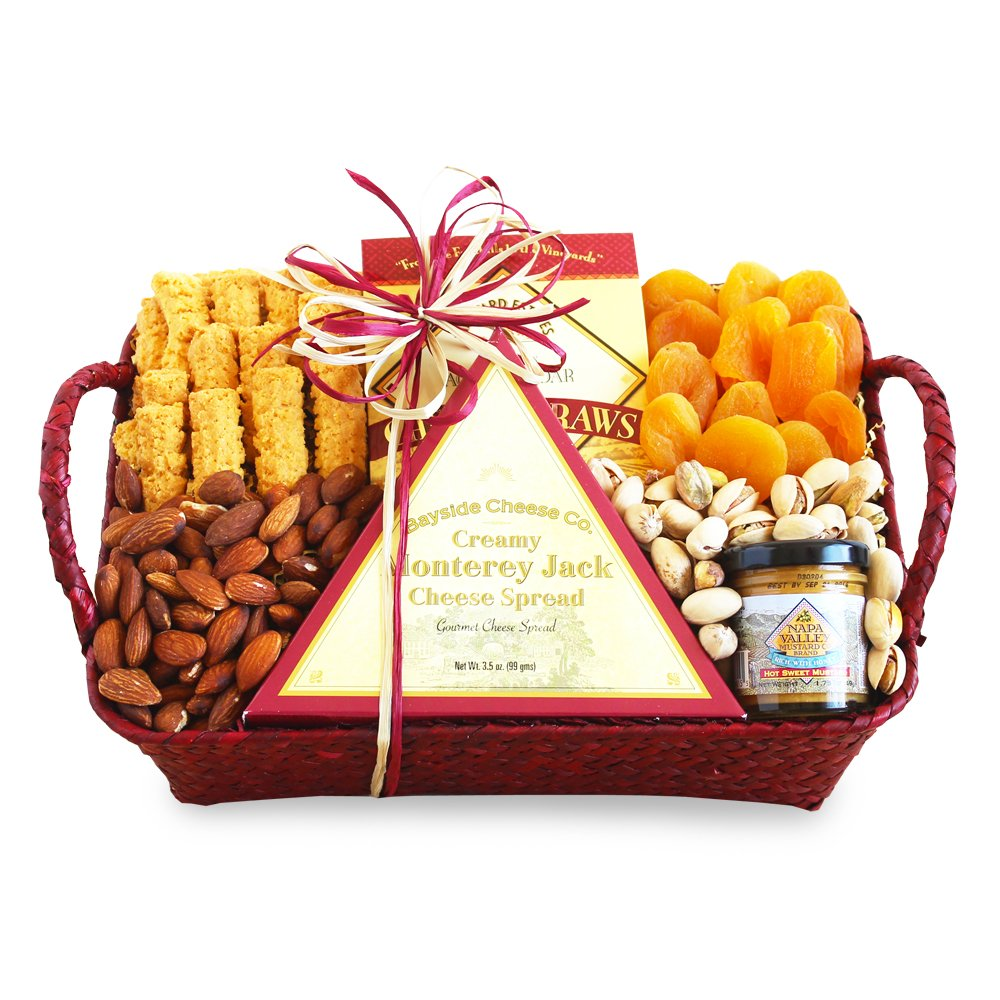 California Delicious Savory Fruit and Nuts Gift