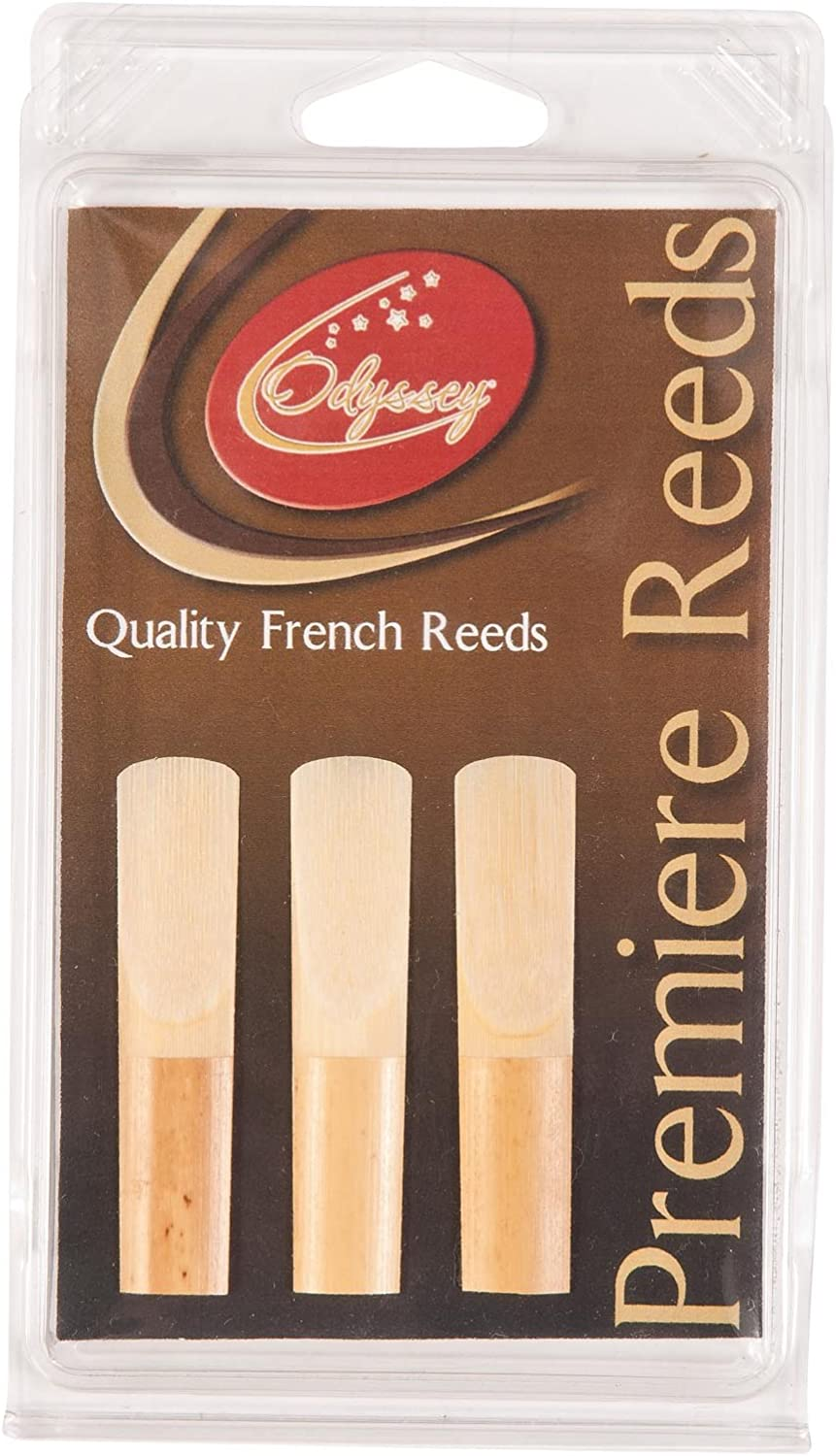 Pack of 3 Odyssey Premiere Soprano Saxophone Reeds 2.0