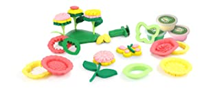Green Toys Flower Maker Dough Set Activity
