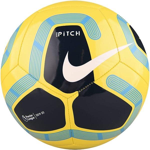 Nike Pitch Premier League Fútbol 2019-2020, Blanco/Negro Rojo ...
