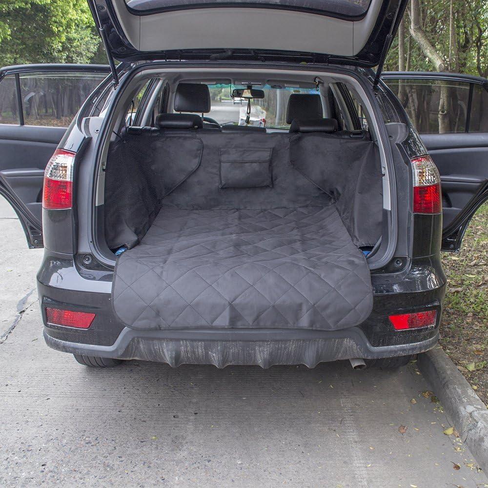 YOUNICER Doppelte Abdeckung Auto M/üll M/ülleimer Mini Auto Kofferraum Organizer Auto M/ülleimer Auto M/ülleimer Halter