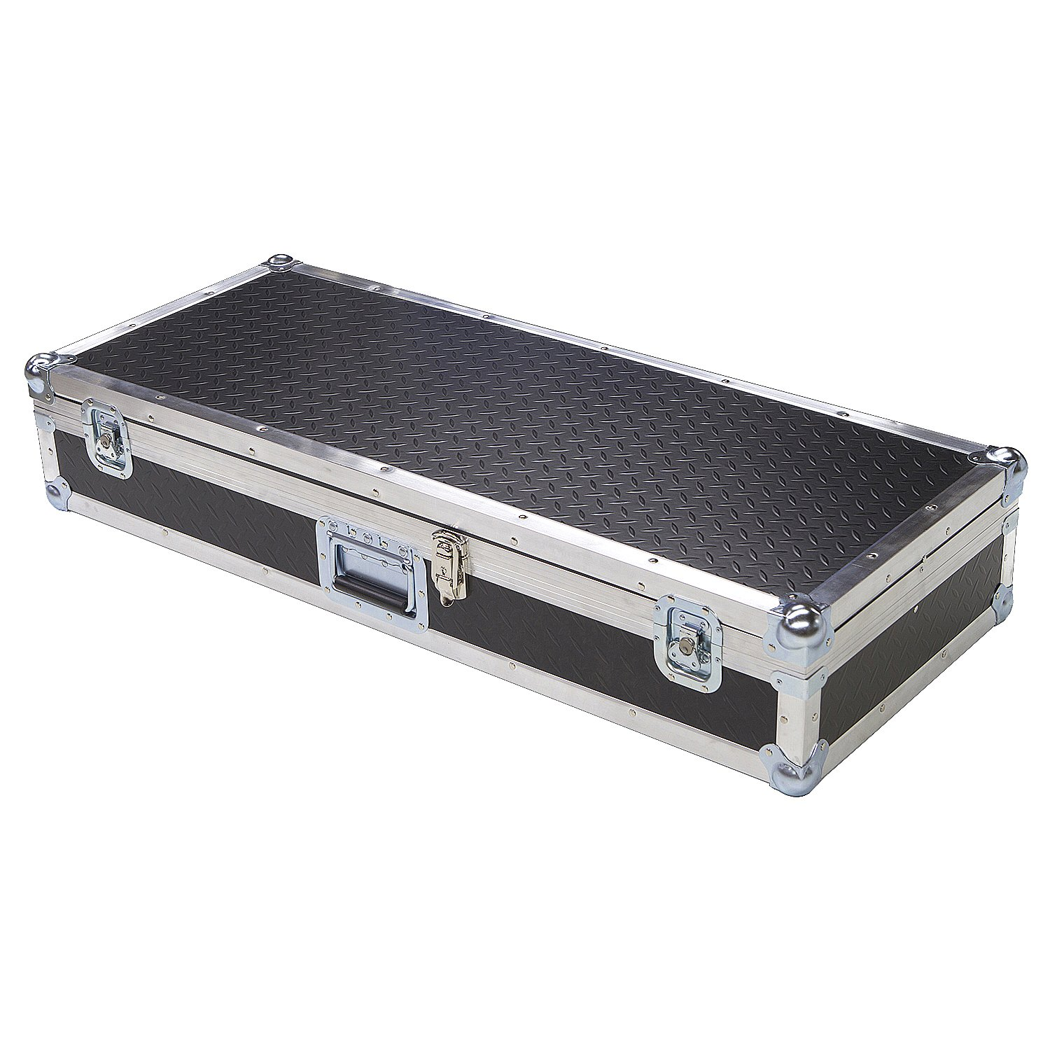 Keyboard 1/4 Ply ATA Light Duty Case with Diamond Plate Laminate Fits General Music PRO I