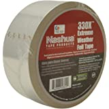 """Nashua 330X Extreme Weather Foil Tape, 3.5 mil Thick, 50 yards Length x 2"""" Width, Silver"""