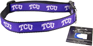 product image for All Star Dogs TCU Horned Frogs Ribbon Dog Collar