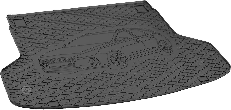 Passgenau Kofferraumwanne geeignet f/ür Hyundai i30 SW//Kombi 2017-2019 ideal angepasst schwarz Kofferraummatte