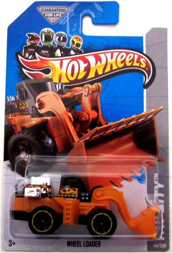 Hot Wheels 2013 Hw City Black /& Orange Wheel Loader