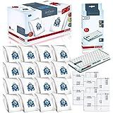 Miele Performance Pack 16 Type GN AirClean 3D Efficiency Genuine FilterBags + Genuine AH50 HEPA Filter + 4 Genuine Pre-Motor