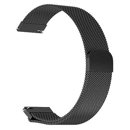 Amazon.com : ECSEM Milanese Loop Bands Compatible Pebble 2 ...