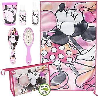 Cerdá, Neceser Set Aseo/Viaje Minnie Unisex niños, Multicolor, 7.0 X 16.0 X 23.0 CM: Amazon.es: Ropa y accesorios