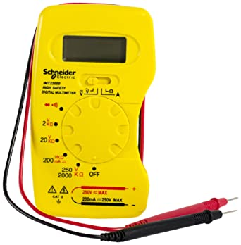 Schneider Electric Rapitest IMT23012 Compact Digital Multi-Meter