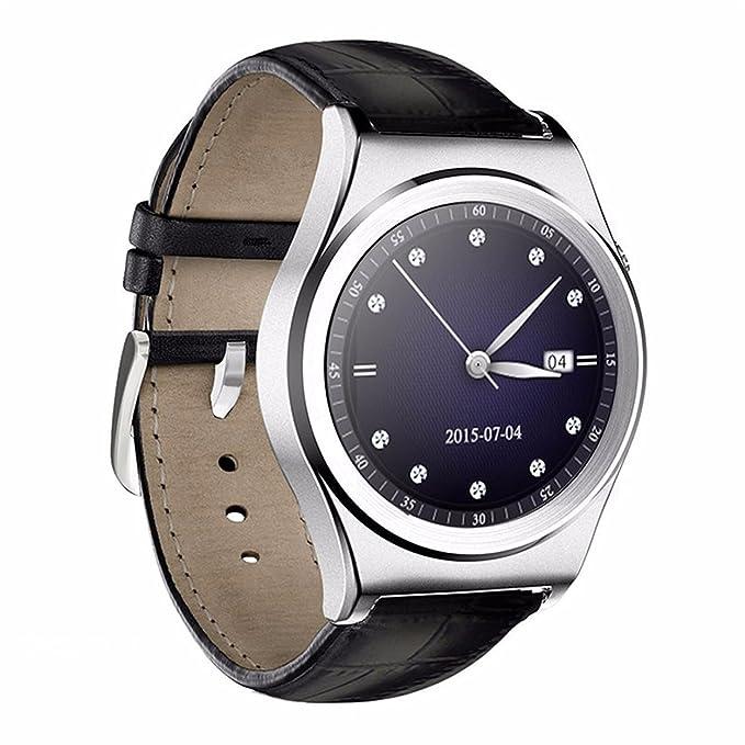 New De Silk Road X10 Smart Watch Bluetooth de frecuencia cardíaca ...