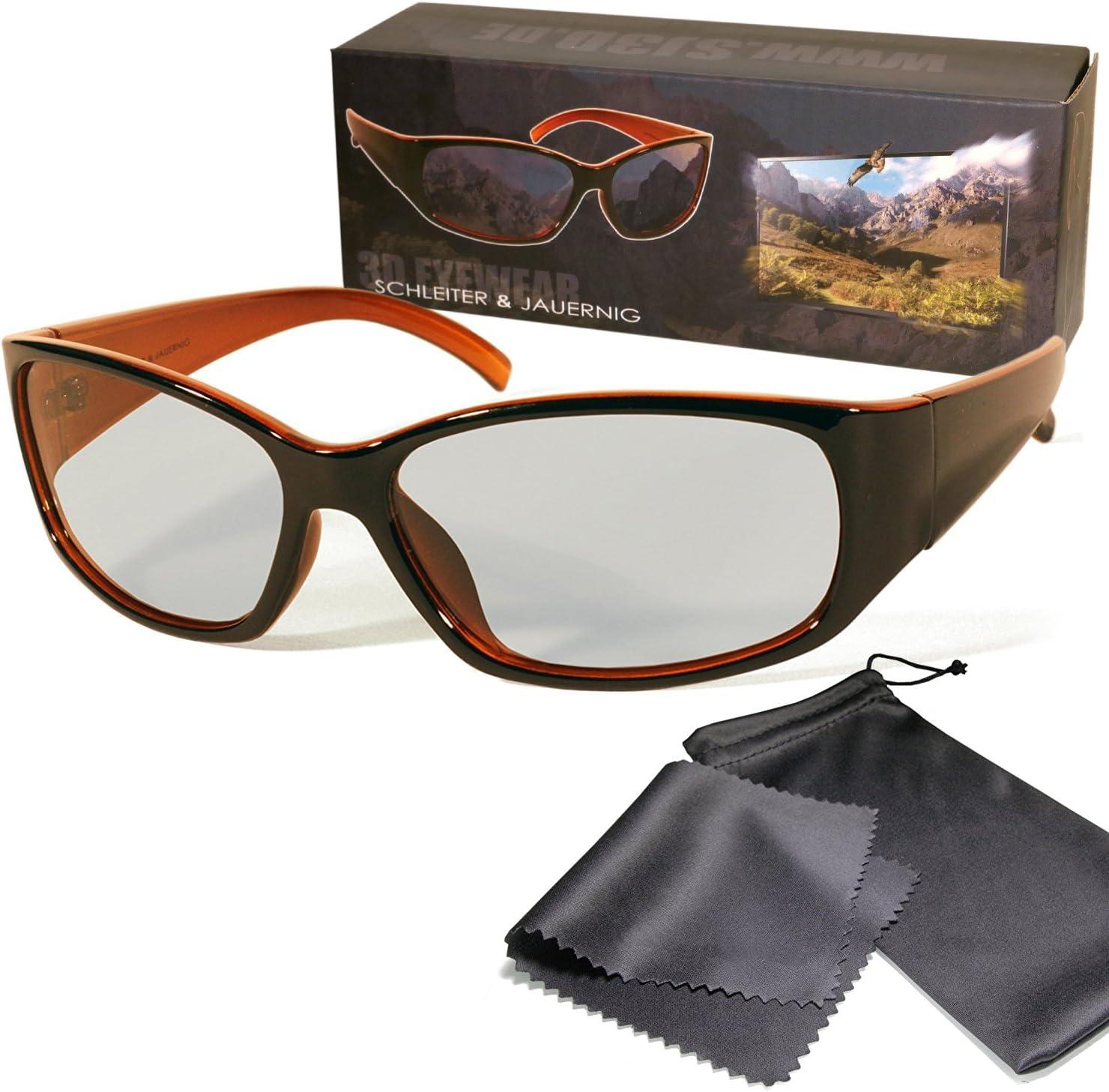 Gafas 3D pasivo para RealD - Negro / Naranja - Alta calidad ...