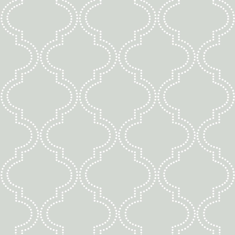 Grey Quatrefoil Peel And Stick Wallpaper Amazon