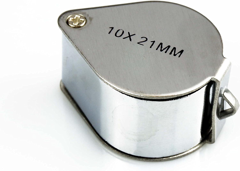 Einschlaglupe 10x 21mm