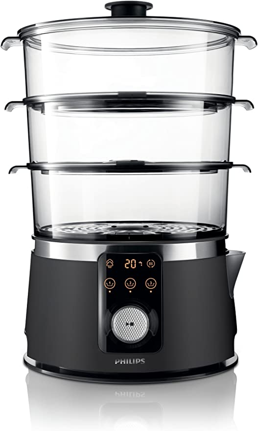 Philips HD9170/91 Avance - Cocedor de vapor (1350 W): Amazon.es: Hogar