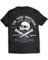 9338 Frog Brothers Mens T-Shirt The Lost Boys Santa Carla Bros Zombie Vampire Amusement Park Thirst Tribe