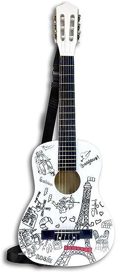 Bontempi- Guitarra clásica de maderal, París, 85 cm (Spanish ...
