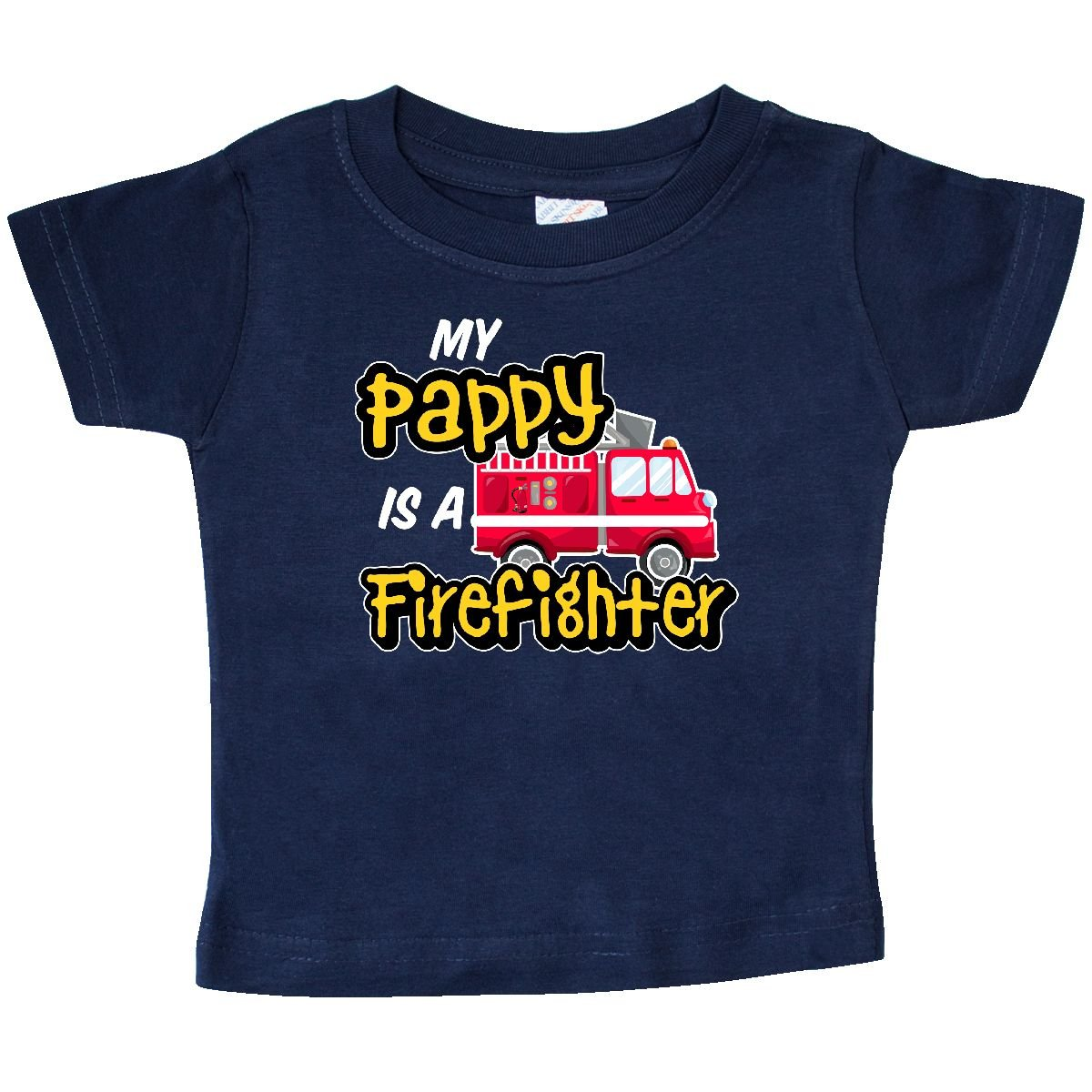 inktastic Firefighter Wife Gift Idea Baby T-Shirt