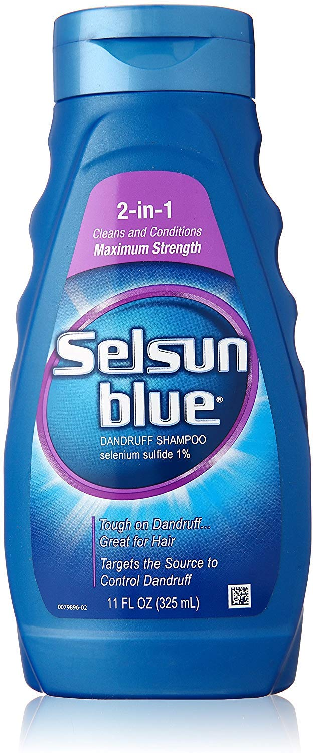 Selsun Blue 2-in-1 Treatment Dandruff Shampoo, 11 oz, 2 pk by Selsun Blue