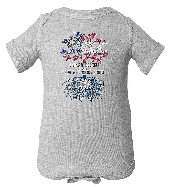Tenacitee Babys Living in Georgia South Carolina Roots Shirt
