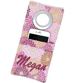 reputable site b5f87 30255 Amazon.com: Handmade Designer Hemp Fabric Phone Case with Red Cross ...
