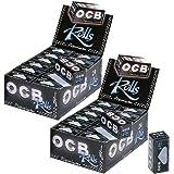 OCB Rolls Premium Lot de 2 cartons de 24 boîtes de papier à rouler
