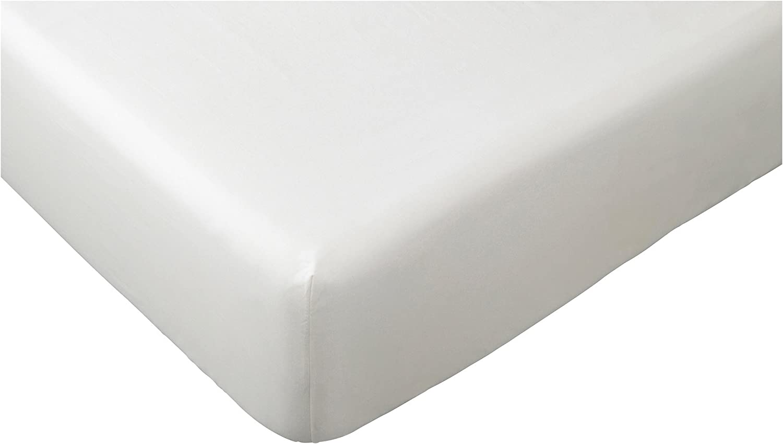 Ikea Dvala Spannbettlaken In Weiß 140x200cm Amazon De Küche Haushalt