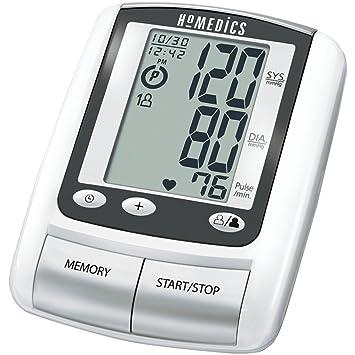 HoMedics BPA-060 - Tensiómetro (Antebrazo, Automático, Blanco, 2 usuario(s), 23-33 cm, mm Hg): Amazon.es: Hogar