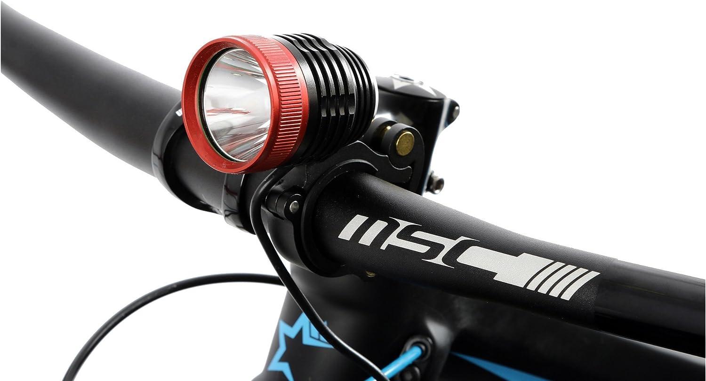 MSC Lumens - Luz de Ciclismo, Color Negro, Talla 1000 L: Amazon.es ...