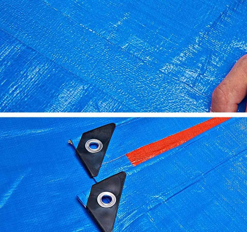 SZ SZ SZ JIAOJIAO Regen Sicheres Tuch Doppelseitig Wasserdichten Sonnenschutz Verdickung Plane Anhänger Abdeckung Camping Plane Plane 180G M2,6×4M B07JNCZQFB Zeltplanen Bevorzugtes Material fbb65b