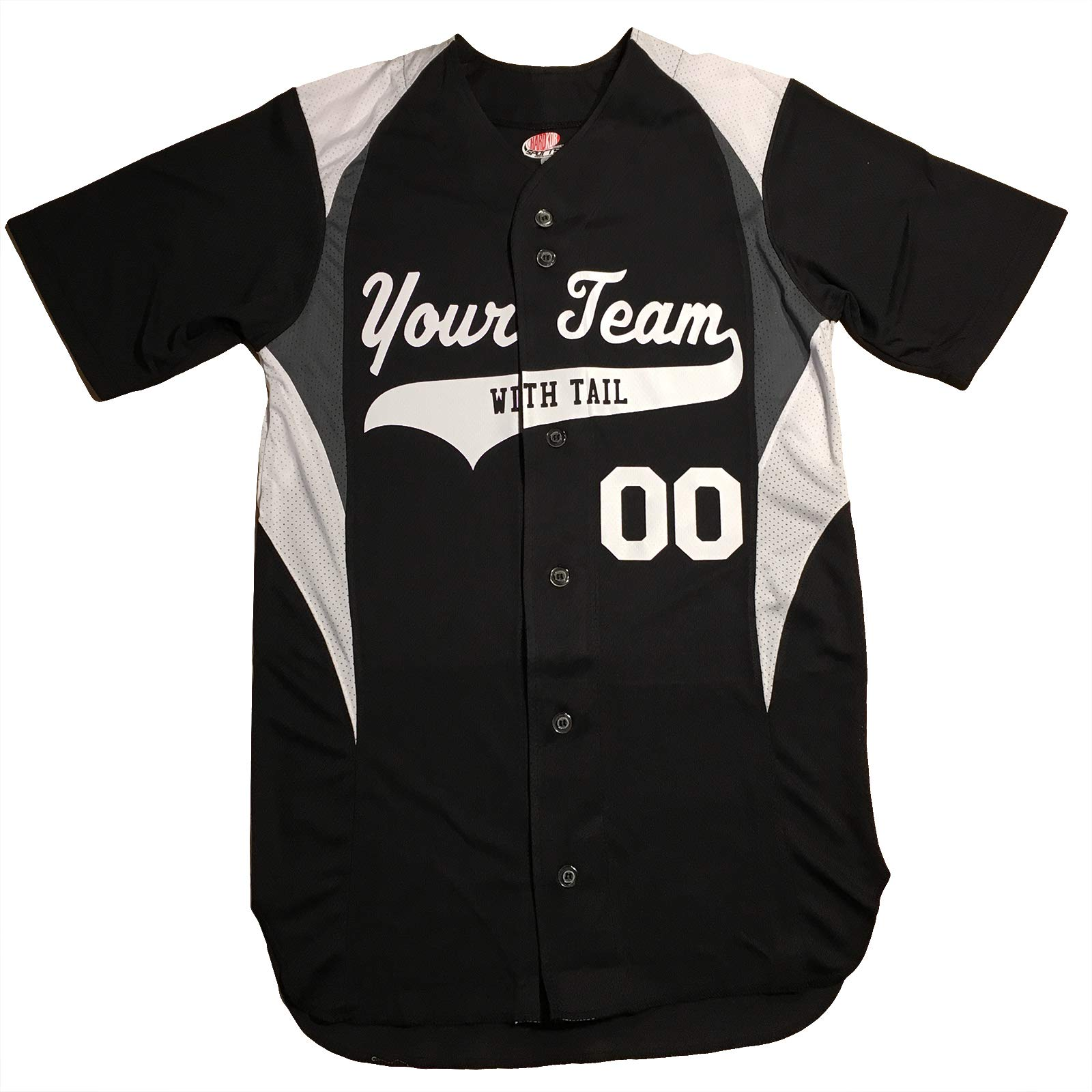 7eeb831e5 3 Color Button Down Custom Baseball Jersey with Your Names and Numbers  product image