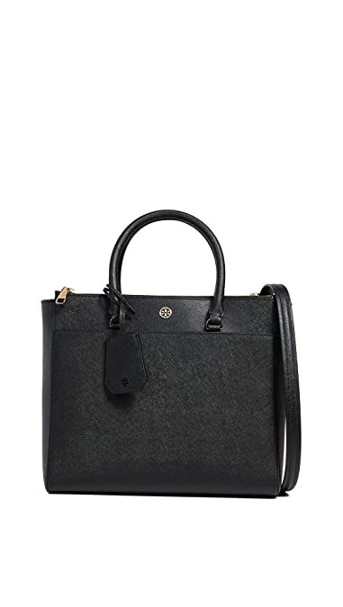 6163139407eaf4 Amazon.com  Tory Burch Women s Robinson Double Zip Tote Bag