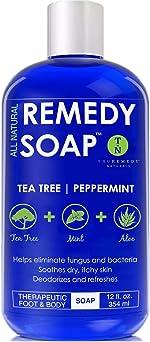 Remedy Soap Tea Tree Oil Body Wash, Helps Body Odor, Athlete's