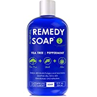 Remedy Soap Tea Tree Oil Body Wash, Helps Body Odor, Athlete's Foot, Jock Itch,...