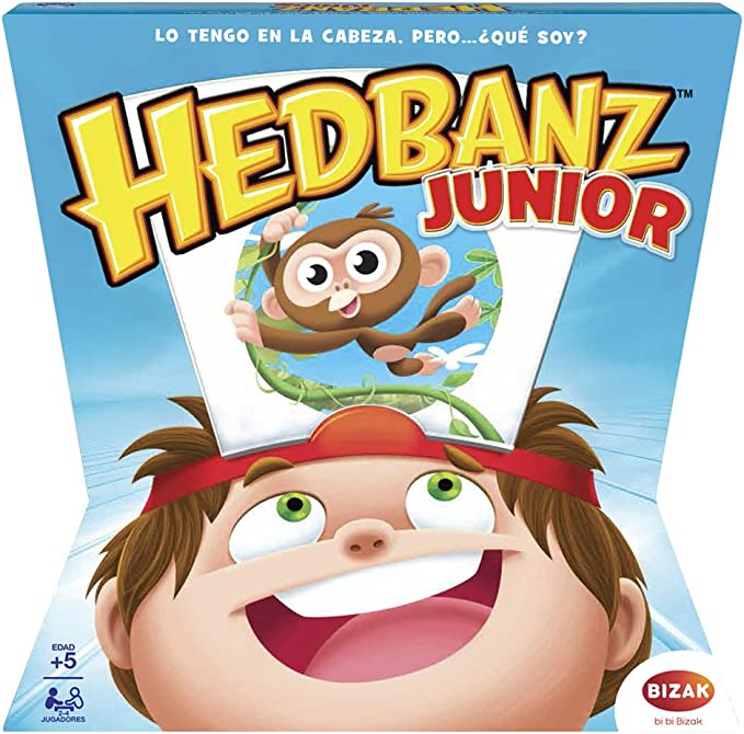 Juegos Bizak Headbanz Adivina que Pienso Junior (BIZAK 61924596): Amazon.es: Juguetes y juegos
