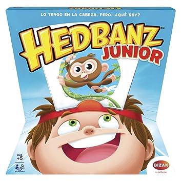 Juegos de Rol- Hedbanz Adivina Que Pienso Jr (Bizak 61924596)