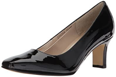 85188db002 Amazon.com | Fitzwell Women's Vincent, Black Patent Leather, 10.5 ...