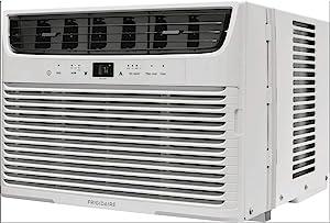 Frigidaire FFRA0622U1 Powerful 6,000 BTU Mounted Window Air Conditioner Room Unit (Certified Refurbished)