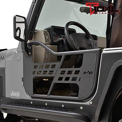 Door Hinge Pin /& Bushing Kit Front Dorman 38447 fits 97-06 Jeep Wrangler