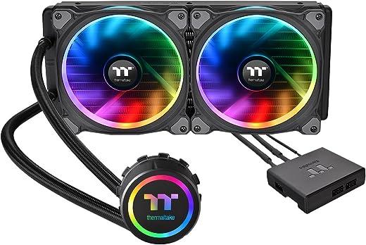 مبرد وحدة المعالجة المركزية السائل فلوي راينغ RGB 280 تي تي الإصدار الممتاز قطعة واحدة [RGB LED مع] fn1115 CL - W167 - مروحة - A