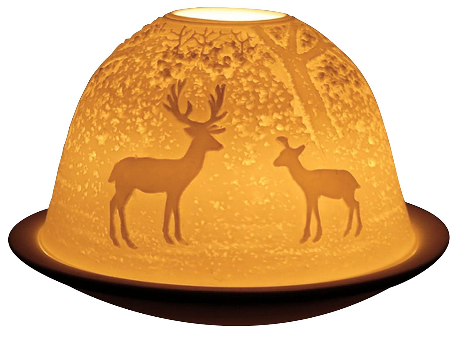 Welink Light-Glow Tealight Candle Holder, Forest Deer - LD09021 by Welink Ltd
