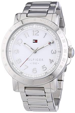 62e9515fc945 Tommy Hilfiger - 1781397 - Montre Homme - Quartz Analogique - Cadran Argent  - Bracelet Métal