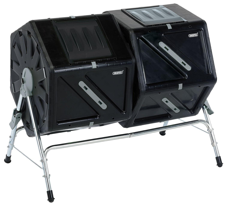 Draper 17986 TC210 Compost Tumbler, 210 Litre
