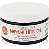 Brahmi Oil - Ayurvedic Hair Growth Oil - With Saffron