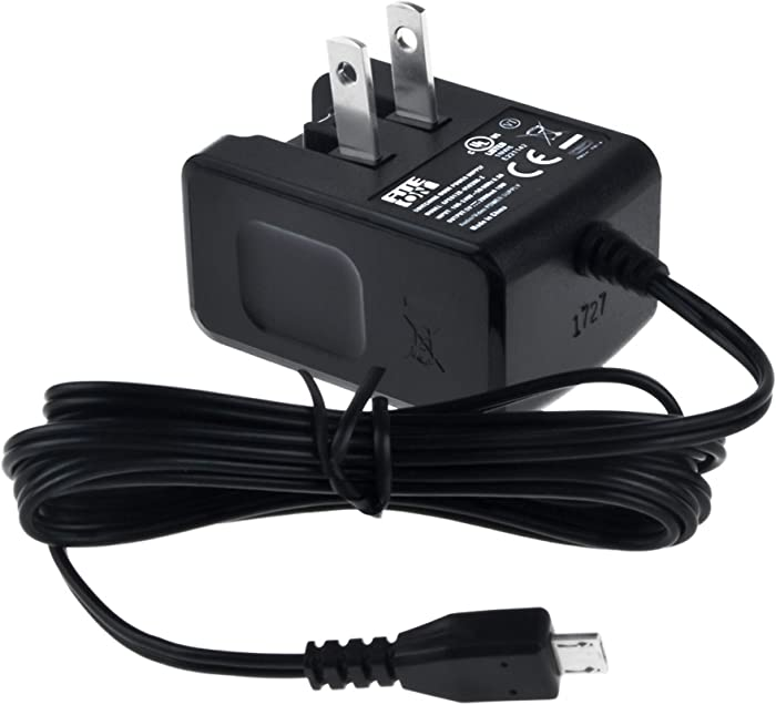 FITE ON UL Listed 5V 2A Micro USB AC/DC Adapter for Dell Venue 8 Pro 3830 5830 Venue 7 3730 Ven7-1666BLK T01C T01C001 Ven8-1999BLK T02D T02D001 Tablet PC Tab Power Supply Cord Battery Charger